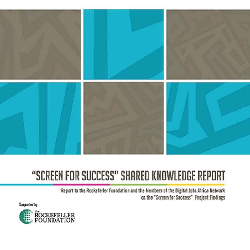 """Screen for Success"" Shared Knowledge Report"