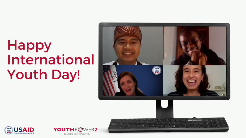 Global LEAD 3WatchOurImpact event recap promo for International Youth Day